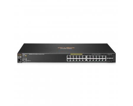 Aruba 2530 24G PoE+ Switch Layer 2 Fully Managed 4 fixed Gigabit Ethernet  SFP ports